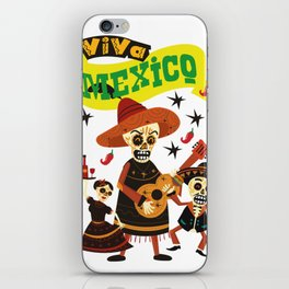 viva mexico iPhone Skin