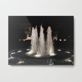 Wish Fountain Metal Print