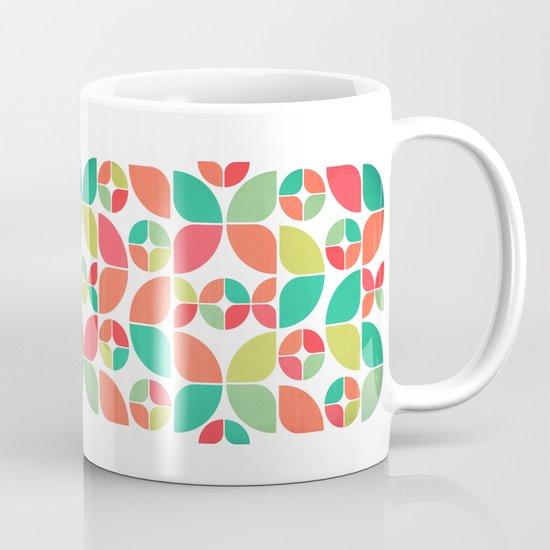 Vintage Summer Pattern Coffee Mug