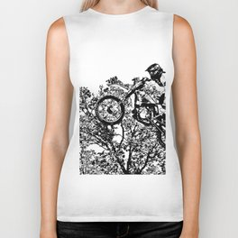 Stealing the Air - Freestyle Motocross Rider Biker Tank