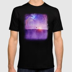Orion nebula II Black Mens Fitted Tee X-LARGE