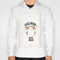 big hero 6 Hoodies featuring Big Hero 6 by kayla.koss