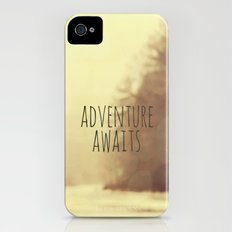 Adventure Awaits II Slim Case iPhone (4, 4s)