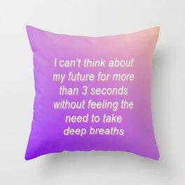 Gradient 1 Throw Pillow