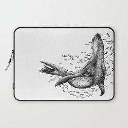 Seal and Fish Laptop Sleeve