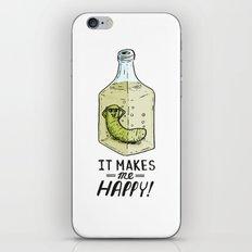 It makes me Happy! iPhone Skin