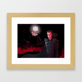 The only way I can save you Framed Art Print