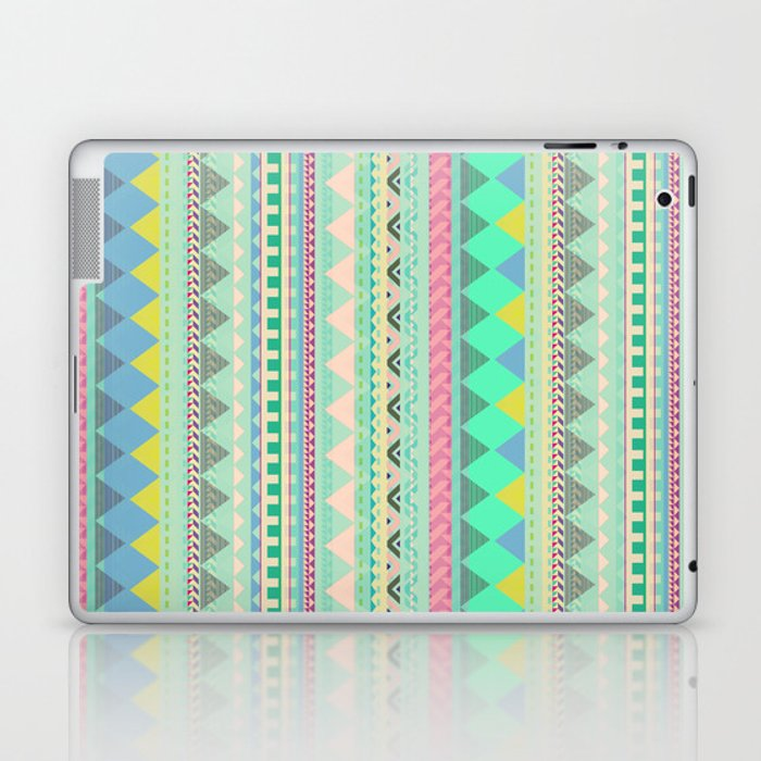 PASTEL AZTEC Laptop & iPad Skin