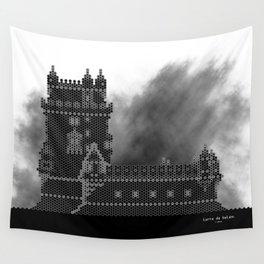 HexArchi - Portugal, Lisboa, Torre de Belém Wall Tapestry