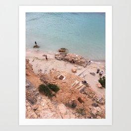 Ibiza, Cala Salada Art Print