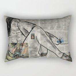 Reclining Nude 2 Rectangular Pillow