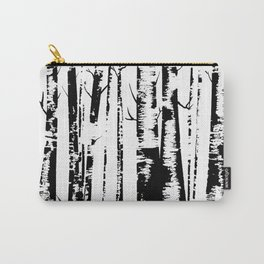 Old Growth Birch Forest Carry-All Pouch