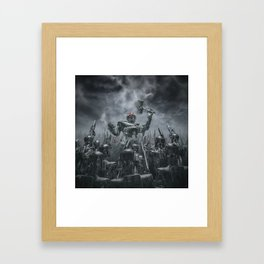 Once More Unto The Breach Framed Art Print