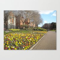 dublin Canvas Prints featuring Dublin by Ganeswar Sahoo