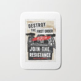 Join The Resistance Bath Mat