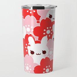 Sakura Bunny Travel Mug