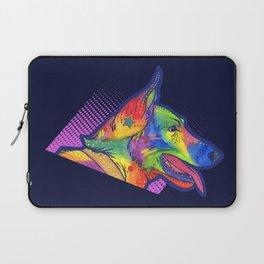 Watercolor Belgian Laptop Sleeve