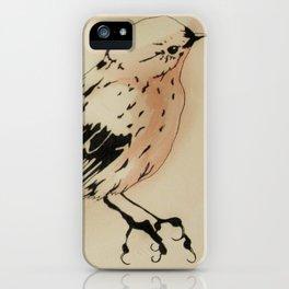 Passerine C iPhone Case