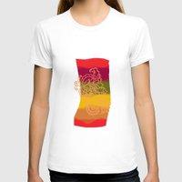 paisley T-shirts featuring paisley bandana by Ariadne