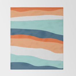venice sunset Throw Blanket