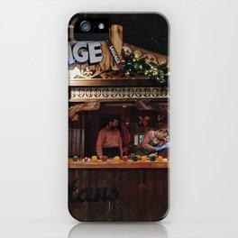 Xmas market iPhone Case