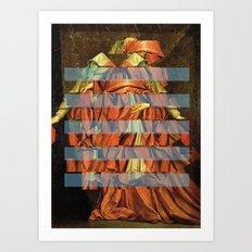 Die Streifen des Kardinals Art Print