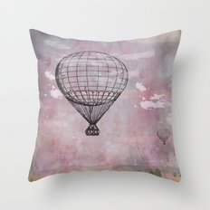 Air balloon Throw Pillow