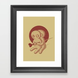 Love me eternally Framed Art Print