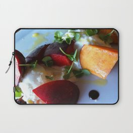 Burrata and Peaches Laptop Sleeve