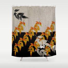 Japanese subtlety Shower Curtain