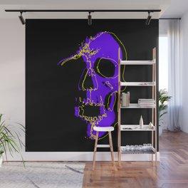 Skull - Purple Wall Mural