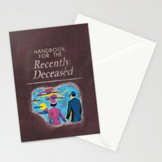 Beetlejuice - Handbook for the recently deceased Stationery Cards
