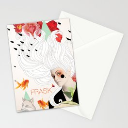 FRASK Collage Stationery Cards