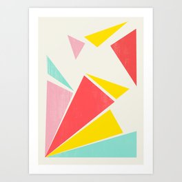 Shattered Rays Art Print