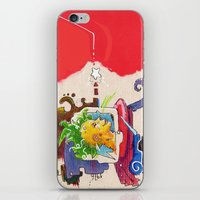 starcraft iPhone & iPod Skins featuring Starchaser by Mauricio Cosío