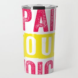 Animal Rights Activist Their Pain Your Voice Travel Mug