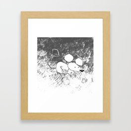 minima - deco mouse Framed Art Print