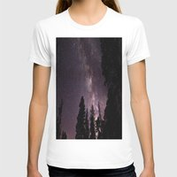 milky way T-shirts featuring Milky Way by Holly O'Briant
