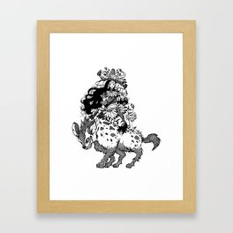 The Witch of Tribes Framed Art Print