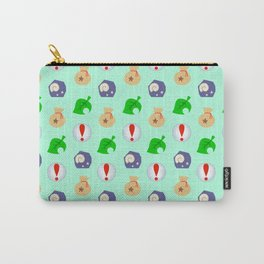 Animal Crossing Icons Carry-All Pouch