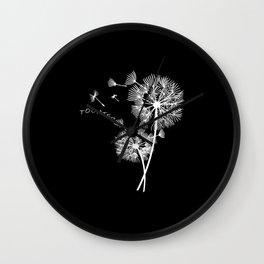 Daughter Dandelion Flower floral print Woman Gift Wall Clock