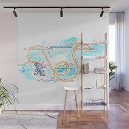 Paper Scrolls (11) Lasso Wall Mural