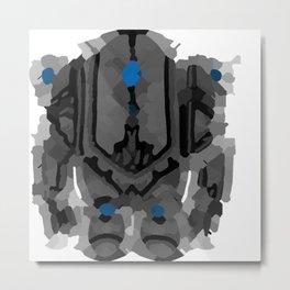 Asura Golem Metal Print