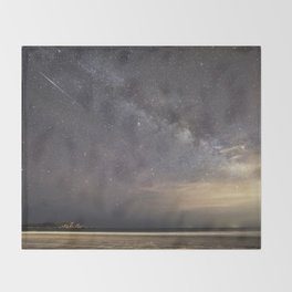 Shooting stars and the Milkyway Throw Blanket