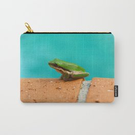 The Little Green Frog Carry-All Pouch