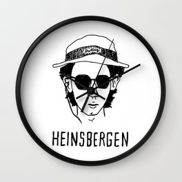 Heinsbergen (Royal Tenenbaums/Breaking Bad) Wall Clock