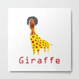 Girafee Metal Print