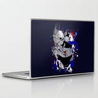 kakashi Laptop & iPad Skins featuring Kakashi Eye by feimyconcepts05