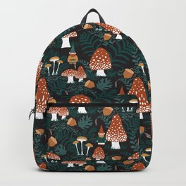 Mushroom Forest Gnomes Backpack