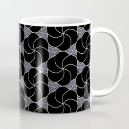 Obsidian Flowers Coffee Mug